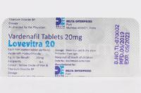 Левитра 20 мг